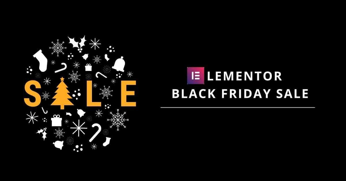 elementor black friday deal