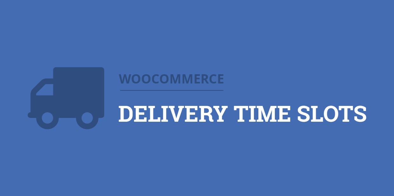 WooCommerce Delivery Time Slots - Admin Screenshot