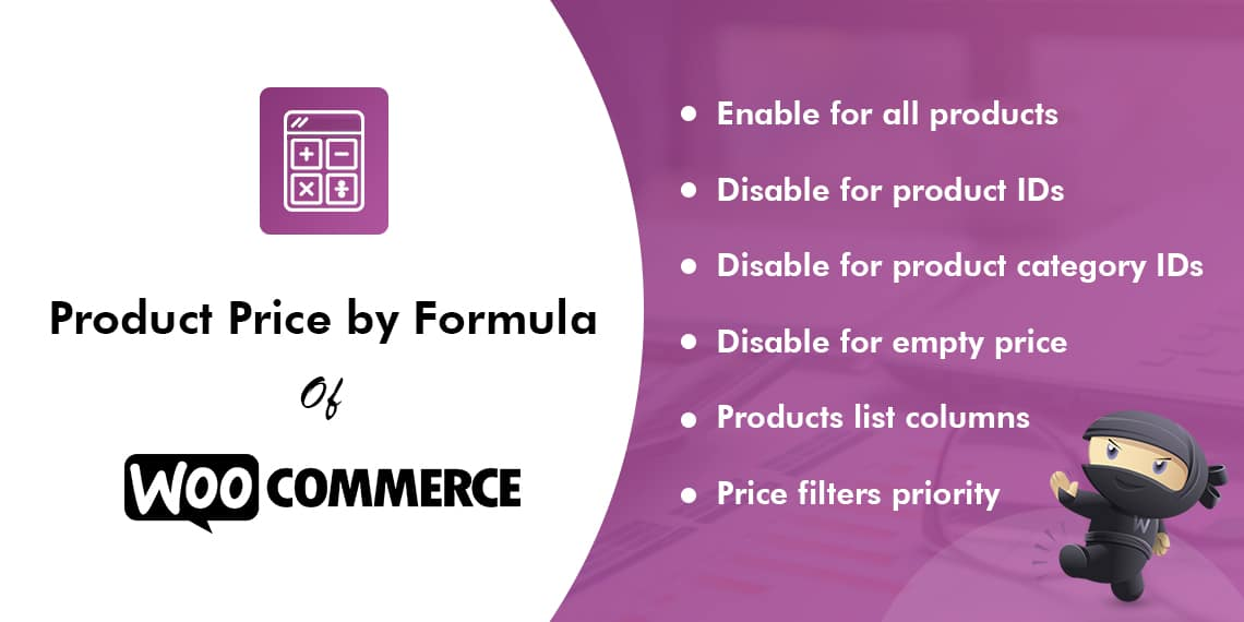 Product Price by Formula for WooCommerce